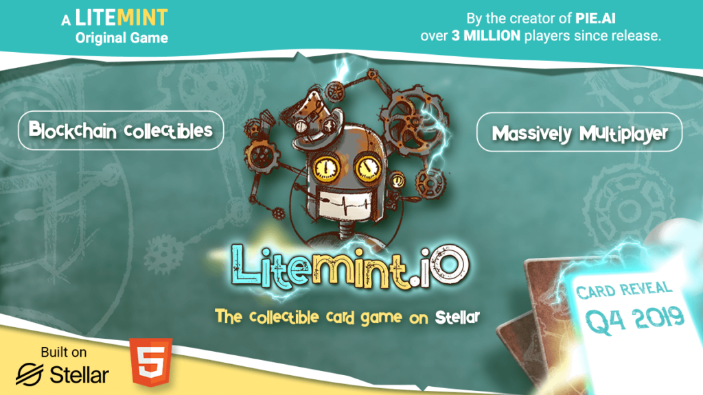 LITEMINT.IO - The Massively Multiplayer Collectible Card Game on Stellar | Card Reveal Q4 2019